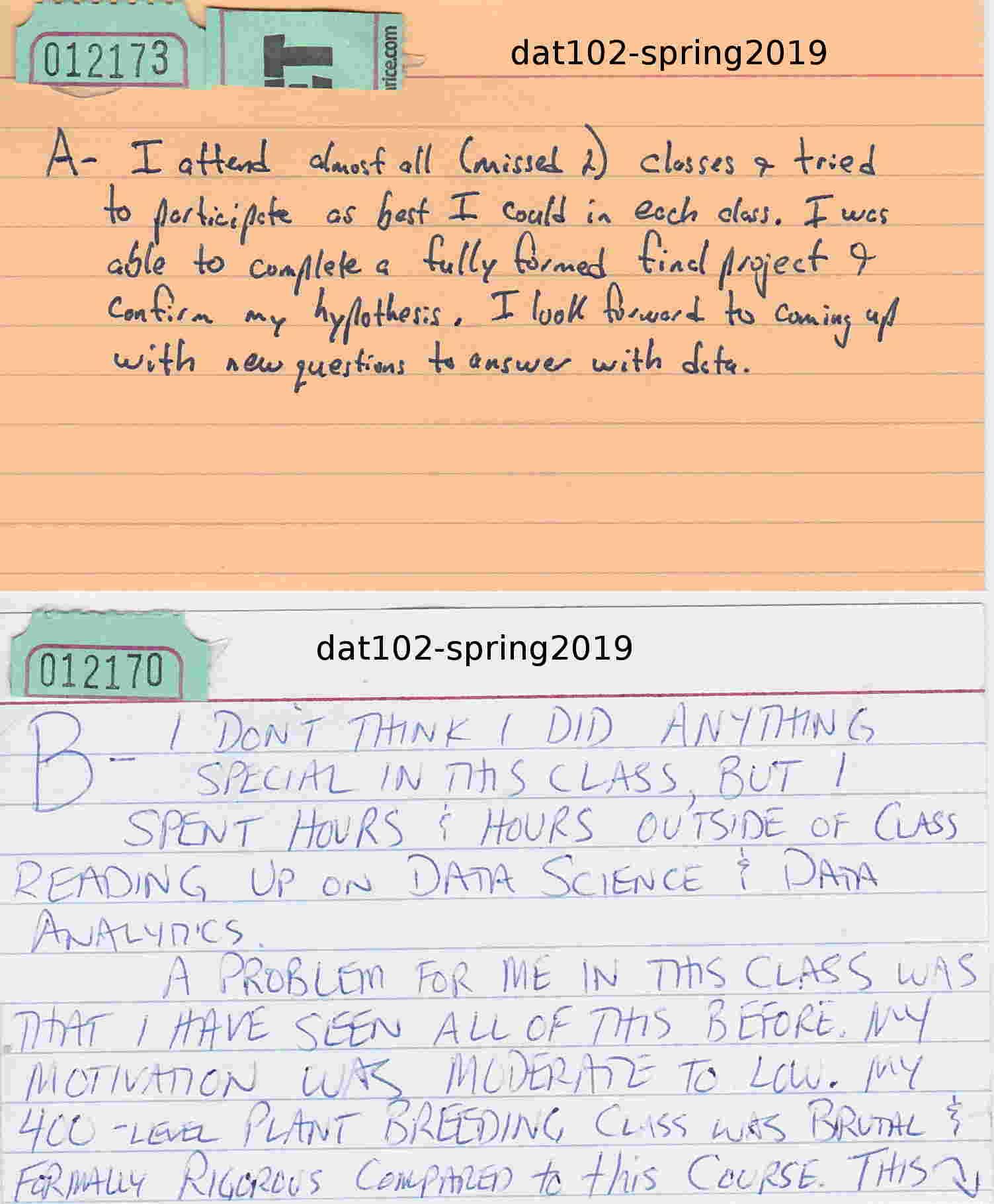 final letter grade proposal card SP19